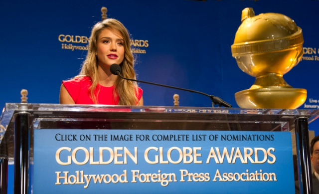Hollywood Foreign Press Association, 2013 Golden Globes Announcement