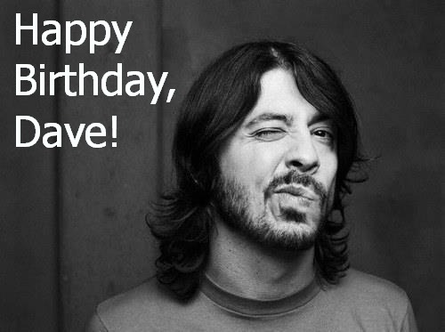 Happy 44th BirthDave Grohl! Here's Our Top 10 @FooFighters